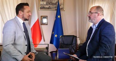 Gość Obiektywu Burmistrz Miasta Sanoka Tomasz Matuszewski