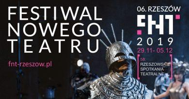 Zbliża się 06. Festiwal Nowego Teatru – 58. Rzeszowskie Spotkania Teatralne