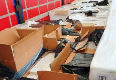 Ponad 6 mln szt. nielegalnych papierosów ukryte w transporcie lodówek