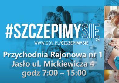 Szczepienia przeciwko Covid-19 w Gminie Jasło