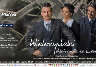 """Pokaz filmu """"Wieleżyński – alchemik ze Lwowa"""" w artKino Krosno"""