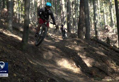 W lesie w Czarnorzekach otwarto trasy rowerowe MTB